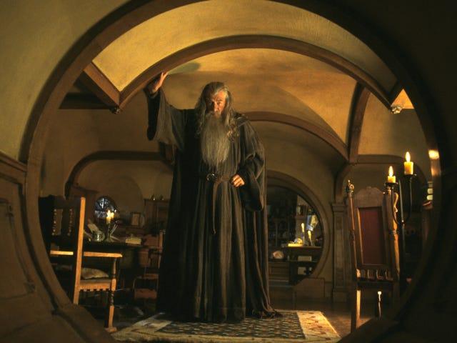 20 년 후, Ian McKellen의 반지의 제왕 촬영 블로그는 여전히 호빗의 집으로 매력적입니다.