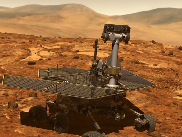 There May Still Be Hope for NASA's Sleeping Opportunity Rover