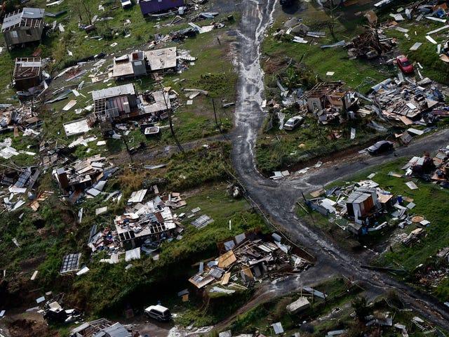 Donald Trump faz-se a vítima na crise de Porto Rico