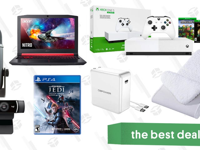 Tuesday's Best Deals: Xbox One S, Cashmere Scarves, USB-C Wall Chargers, and More