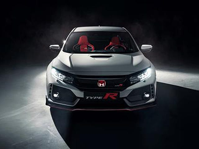Αυτό θα μπορούσε να είναι το 2018 Honda Civic τύπου R πριν να υποθέσουμε ότι το βλέπουμε