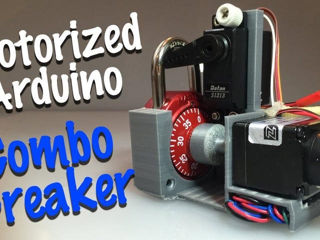 Κατασκευάστε μια συσκευή που μπορεί να σπάσει τα βασικά κλειδαριές σε λιγότερο από 30 δευτερόλεπτα