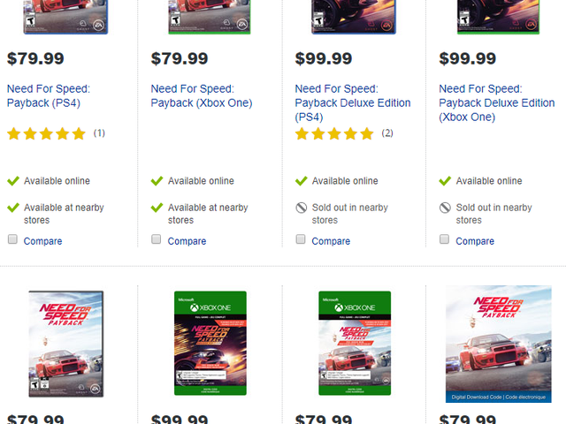 Things that I hoped for with the advent of digital downloads for video games: cheaper games