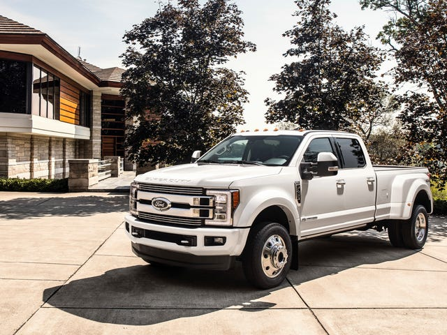 Ford Also Recalls Roughly 550,000 Trucks Over Potential For Seat-Belt Systems To Cause Fires