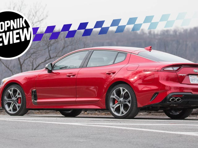 The 2018 Kia Stinger GT Is The Real Deal