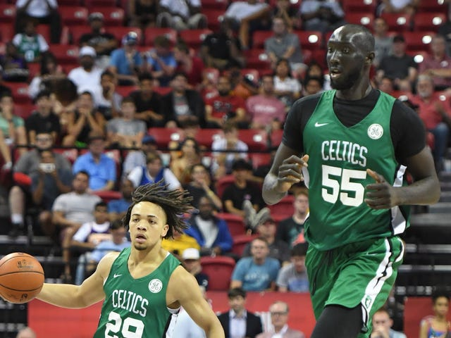 Tacko Fall Is In Concussion Protocol Because He Bonked His Head On The Ceiling