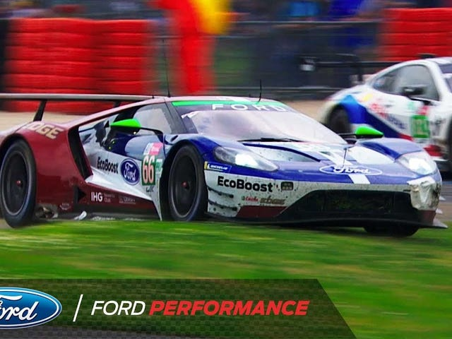 FORD GT highlights from LeMans