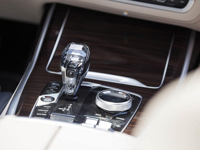 Oh God I Think I Actually Love BMW's Crystal Shifter