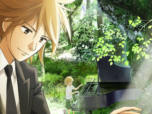 Piano no Mori Anime Set To Air In The Spring