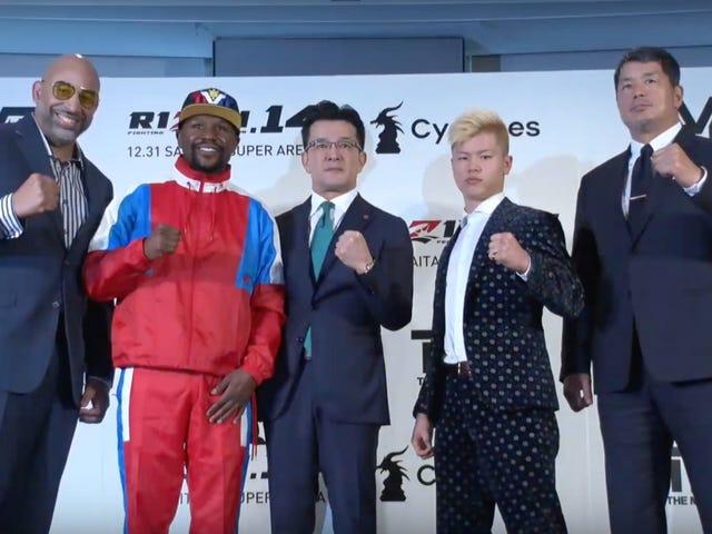 Floyd Mayweather Jr. Fighting A Japanese Kickboxing Prodigy Makes Absolutely No Sense