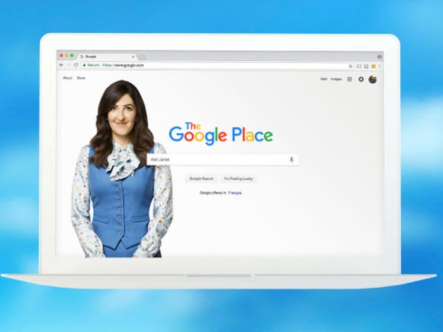 Google Chrome Has a Forking Clever Good Place Extension