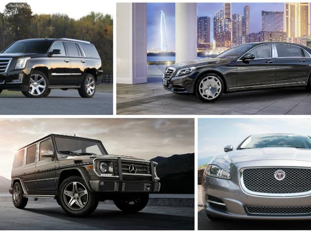 これらの大きな高級車はあなたがそれを作った世界を見せる