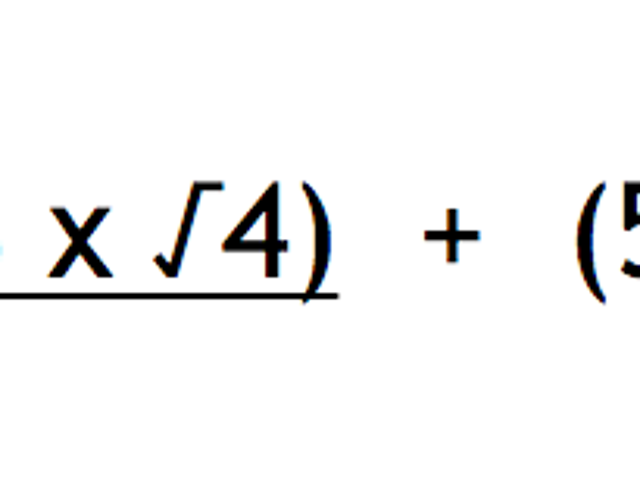 This Math Equation Is Also A Limerick