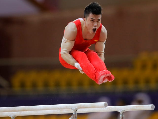 China And Russia Are Back On Top Of Men's Gymnastics