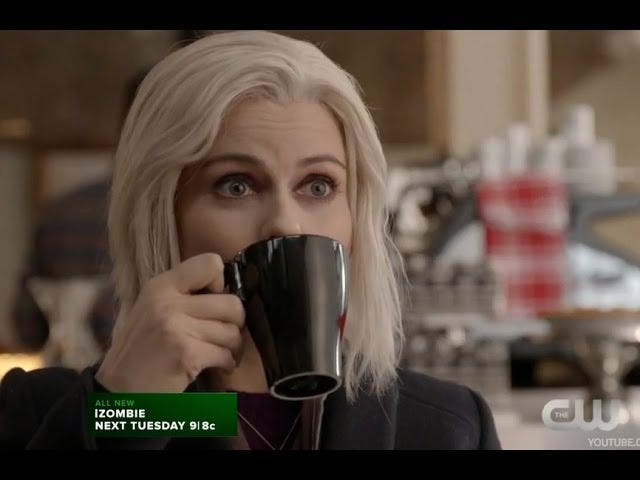 iZombie 2.14: Eternal Sunshine of the Caffeinated Mind