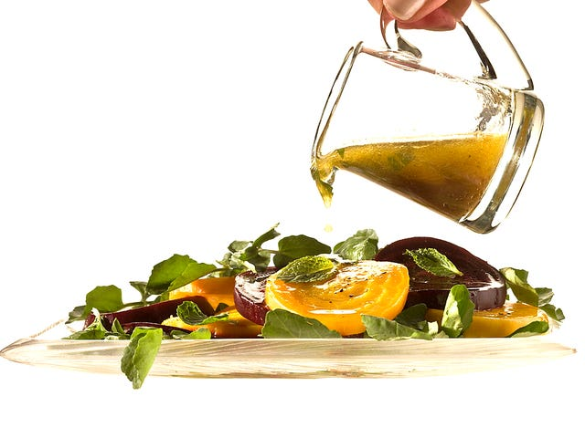 Toss the bottle and make your own salad dressing