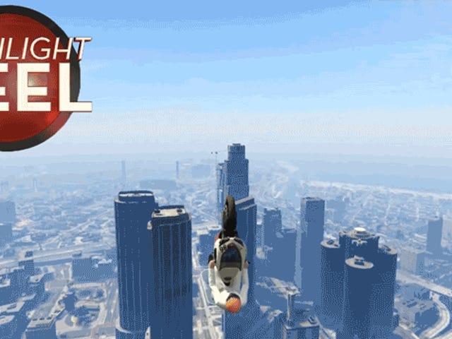 <i>GTA</i> joueur de <i>GTA</i> réellement cet atterrissage