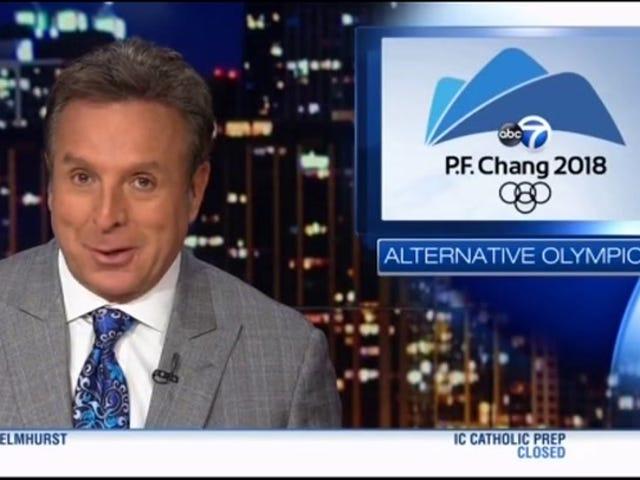"""Chicago News Station nazywa to """"Olimpiadą PF Chang"""""""