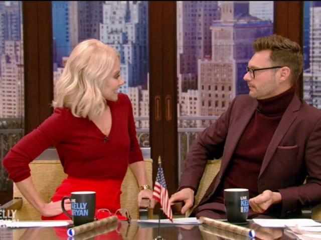 Kelly Ripa defiende al co-anfitrión Ryan Seacrest en medio de acusaciones de asalto: 'Usted es un privilegio para trabajar'