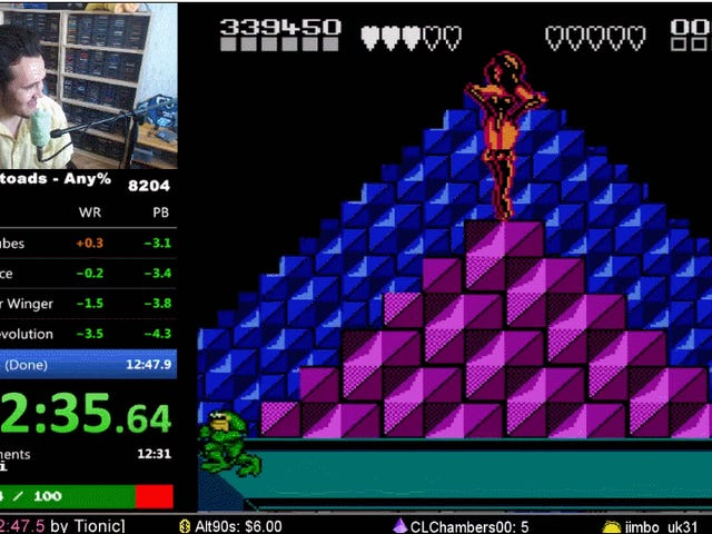 Speedrunner Kicks <i>Battletoads</i> &#39;Ass, Sets New World Record