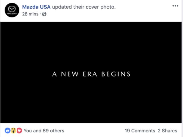 Oh echt Mazda?