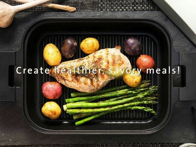 UchiCook: Steam and Grill Simultaneously for Maximum Juiciness