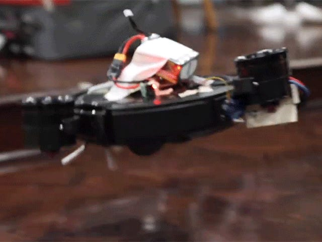 Gadget Hacker Solves the Biggest Problem With Robovacs by Making One That Flies