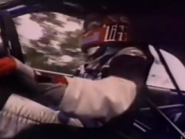 See A Very Young Tiff Needell Lap A Group A Ford Sierra RS Cosworth