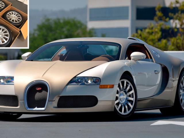 Sila Pertimbangkan Set Ini Bugatti Veyron Wheels Digunakan Lembut untuk $ 100,000