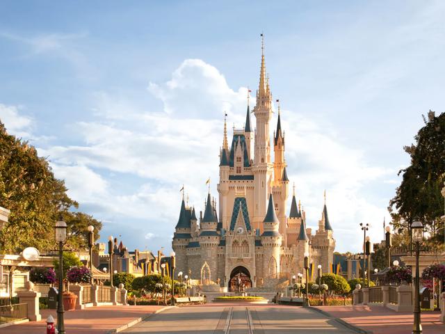 Ta en virtuell resa till Disney World