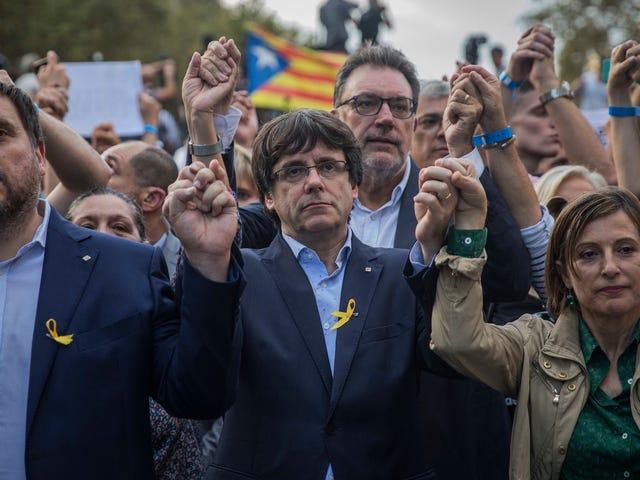 """Spanien ist jetzt """"totalitär"""", sagt der katalanische Vizepräsident"""
