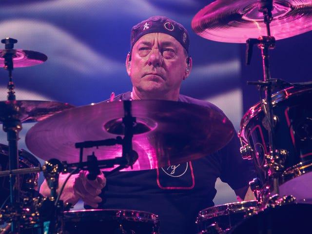 RIP Neil Peart, batteur pour Rush
