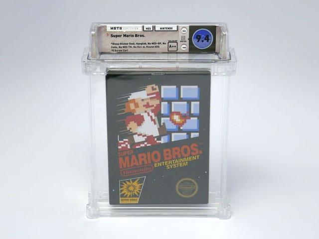 Anda boleh membeli <i>Super Mario Bros.</i> dalam masa beberapa saat untuk membeli 1000050 doblemen