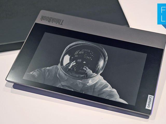 Lenovo kan ikke stoppe med at sætte e-blækskærme i tingene, og det er fantastisk