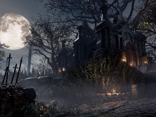 Hunter's Dream From Bloodborne, Remade In Unreal Engine