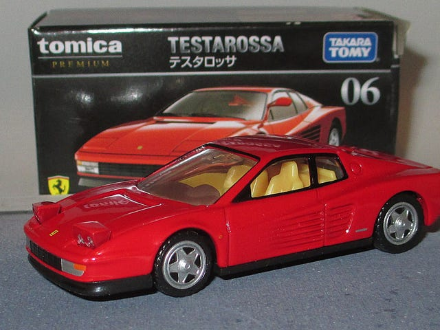 Spaghetti Saturday: Tomica Premium Ferrari Testarossa