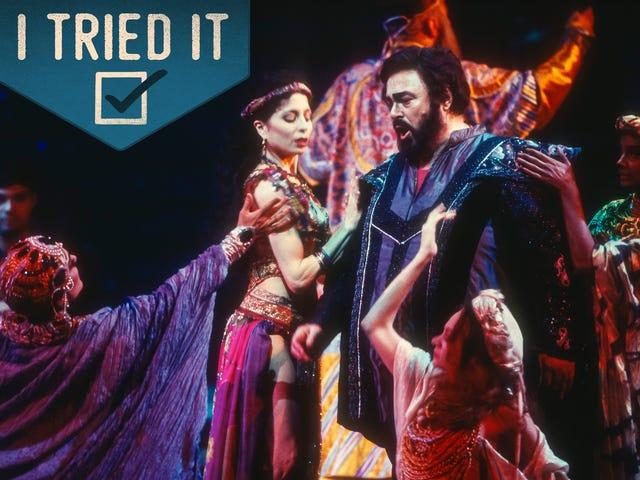 Jeg prøvede det: En nat ved operaen