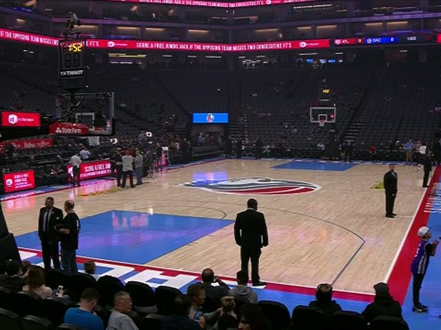 Kings Game Delayed, Stadium Closed To Fans Due To Protests Over Fatal Police Shooting