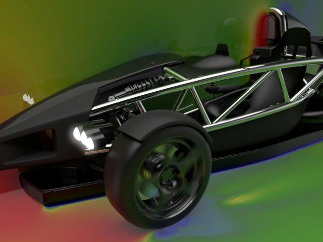 Cette voiture de fan Ariel utilise une technologie interdite pour résoudre l'un des plus gros problèmes de voitures de sport