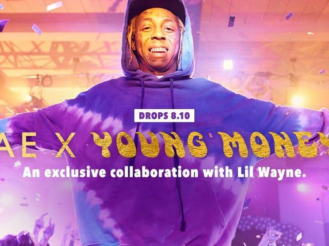 Hindi ka Dapat Maging Milyun-milyong Pera ng Milyun-milyong Pera na Magsuot ng American Eagle Collection ng Lil Wayne