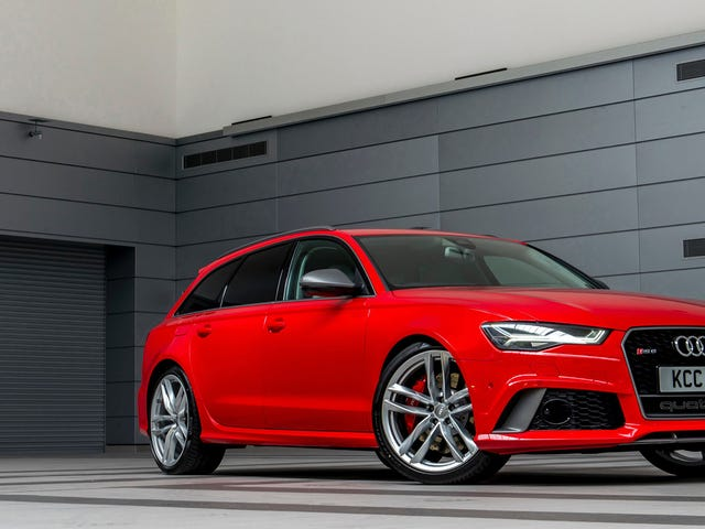 Here's a Silly Rumor I Heard: The 2020 Audi RS6 Wagon Could Come to The U.S.