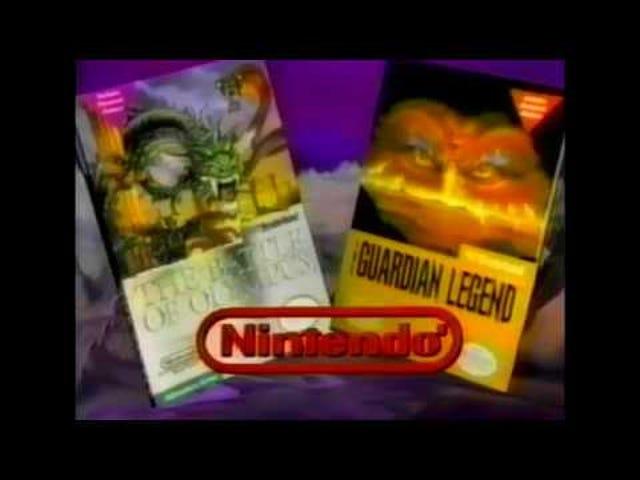 Late TAY Retro:ニンテンドーエンターテインメントシステム オリンパスの戦い テレビコマーシャル(NA)