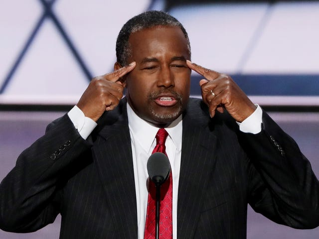 How Petrified Should We Be for Hurricane Victims Now That Ben Carson Is the Head of HUD?