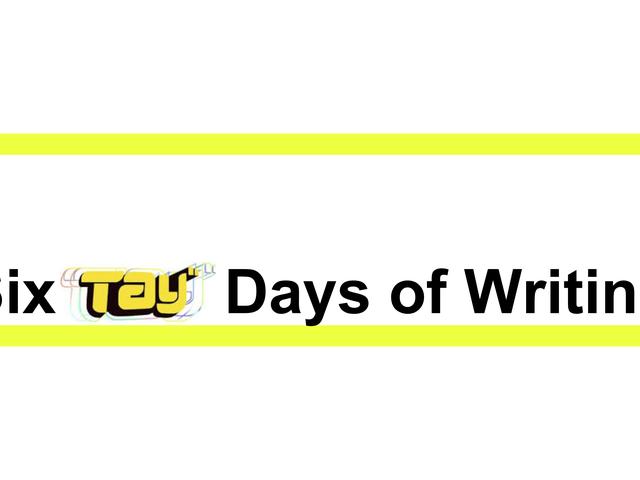 SixTAYの挑戦を書く日!