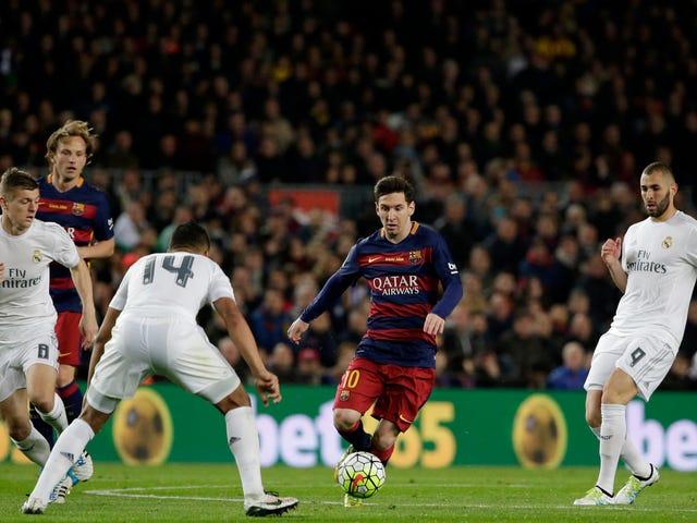 Kun et øjeblik fra Barcelona-Real Madrid levede op til <i>Clásico</i> navnet
