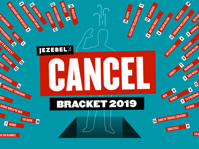 How Much Longer Must We Endure Men and Influencers? Jezebel's Cancel Tournament Continues