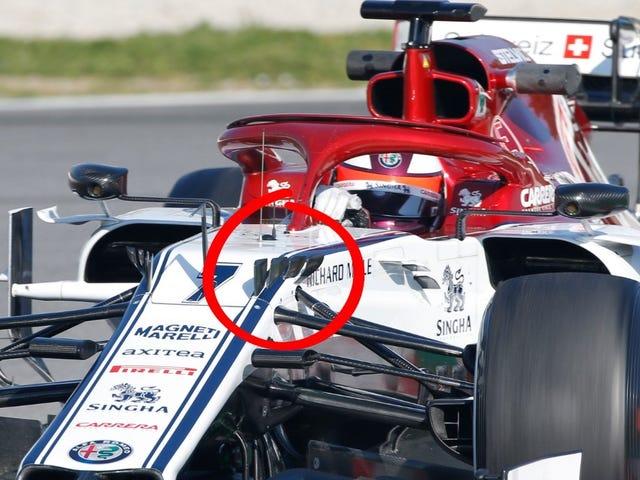 Was sind diese seltsamen Hupen an neuen F1-Autos?