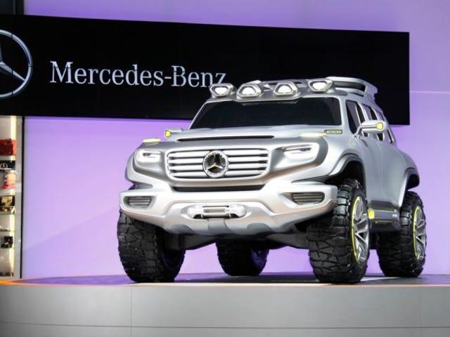 Mercedes está haciendo un cruce de G-Wagon Propósito construido para Rich Road-Going: Informe <em></em>