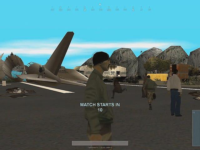 Los fanáticos ponen un modo Battle Royale en <i>GTA: San Andreas</i> , y funciona realmente bien