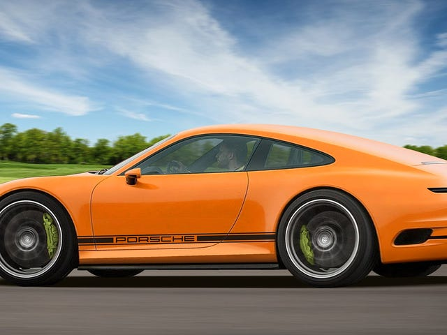 This Artist Imagines What A Future Electric Porsche 911 Could Look Like
